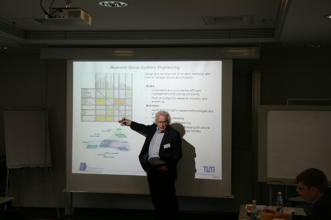 Prof. Lindemann initiated the Spring School in 2010